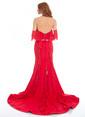 Pierre Cardin Balık Abiye Elbise Kırmızı